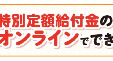 特別定額給付金(10万円) オンライン申請体験レポート